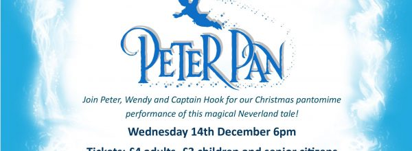 Peter Pan Performance – 13th December