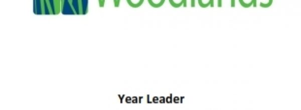 Year Leader Vacancy – Closing Date 5th March