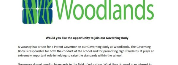 Parent Governor Opportunity Letter from Mrs J Edwards