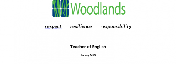 Teacher of English vacancy